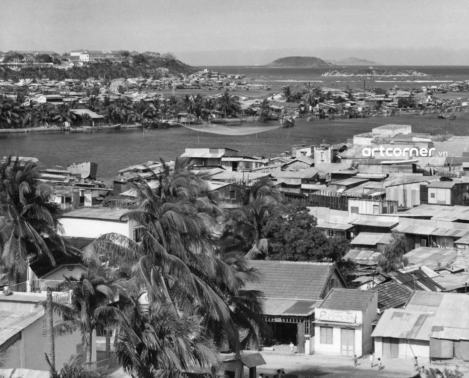 Nha Trang xưa - Toàn cảnh Nha Trang - 1968