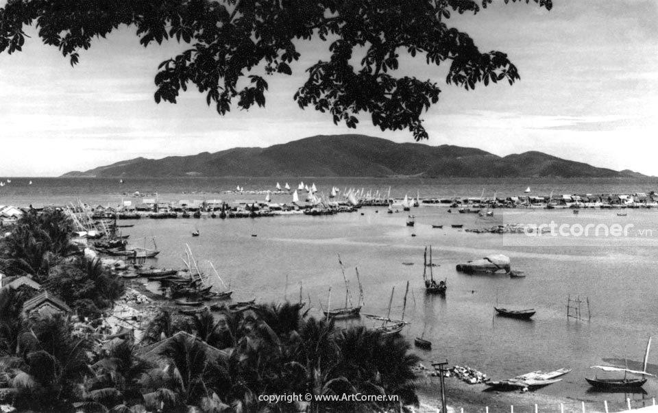 Nha Trang xưa - Sông Cái - Cái River - Nha Trang - 1959