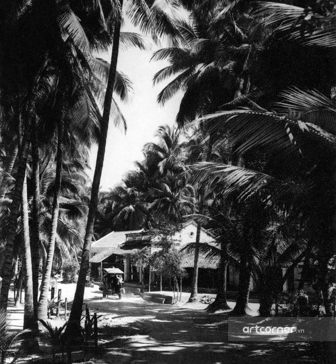 Nha Trang xưa - Cảnh làng quê - Việt Nam countryside - Nha Trang - 1962