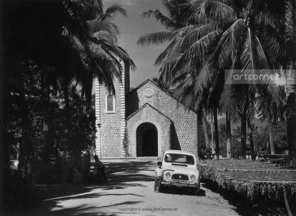 Ninh Thuận xưa - Nhà thờ Phước An - Ninh Thuận - 1968