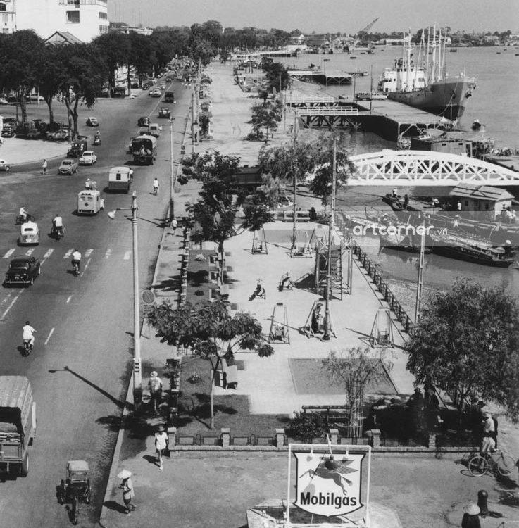 Sài Gòn xưa - Cảng Sài Gòn - Sài Gòn Port - 1959