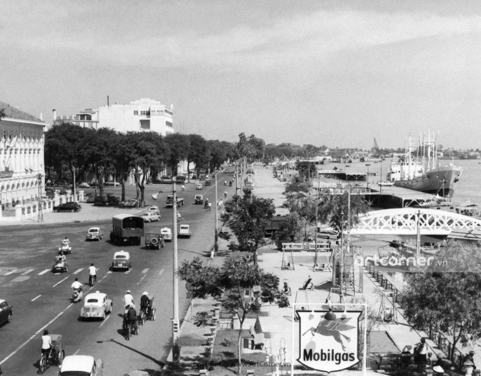 Sài Gòn xưa - Bến Bạch Đằng - Bạch Đằng Pier - Sài Gòn - 1959