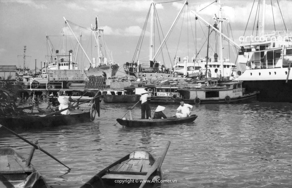 Sài Gòn xưa - Cảng Sài Gòn - Sài Gòn Port - 1962