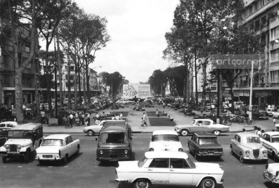 Sài Gòn xưa - Công trường Lam Sơn - Lam Sơn Square - Sài Gòn - 1965