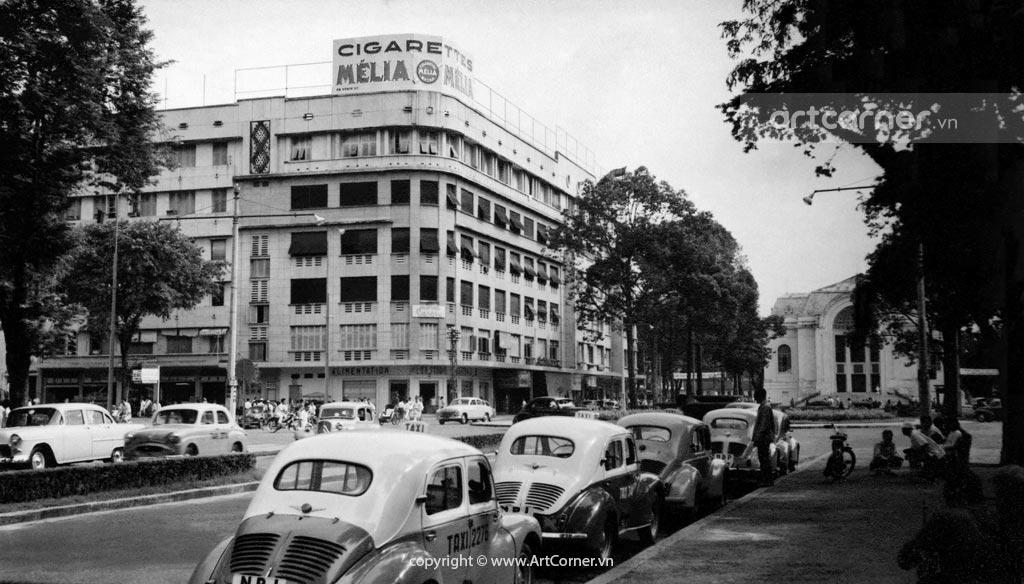 Sài Gòn xưa - Đường Lê Lợi, trụ sở Quốc Hội và Khu tứ giác Eden - 1959