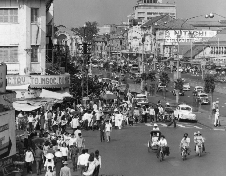 Sài Gòn xưa - Đại lộ Lê Lợi - Lê Lợi Boulevard - Sài Gòn - 1969