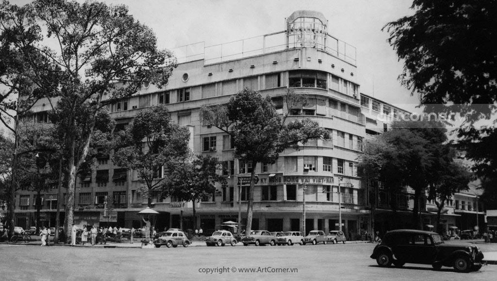 Sài Gòn xưa - Khu tứ giác Eden - Eden Center - Sài Gòn - 1960