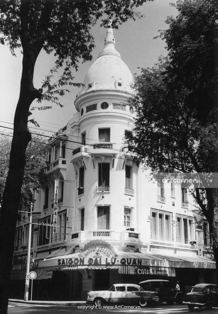 Sài Gòn xưa - Sài Gòn Đại Lữ Quán - Grand Hotel - Sài Gòn - 1959