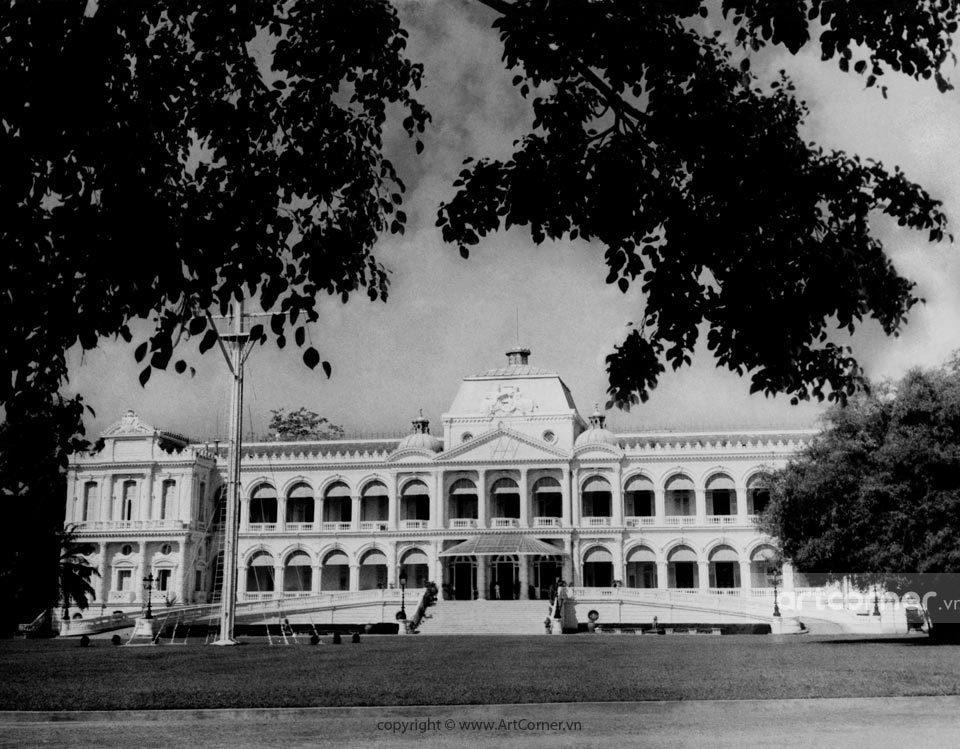 Sài Gòn xưa - Dinh Độc Lập - Independence Palace - Sài Gòn - 1959