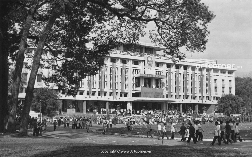 Sài Gòn xưa - Dinh Độc Lập - Independence Palace - Sài Gòn - 1975