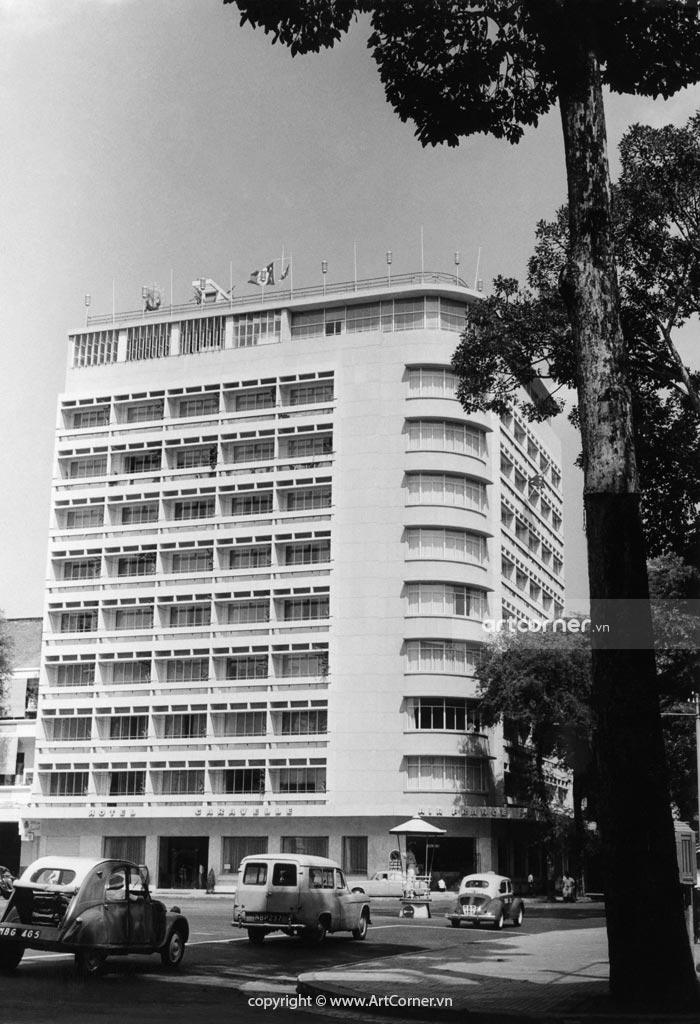 Sài Gòn xưa - Khách sạn Caravelle - Caravelle Hotel - Sài Gòn - 1960