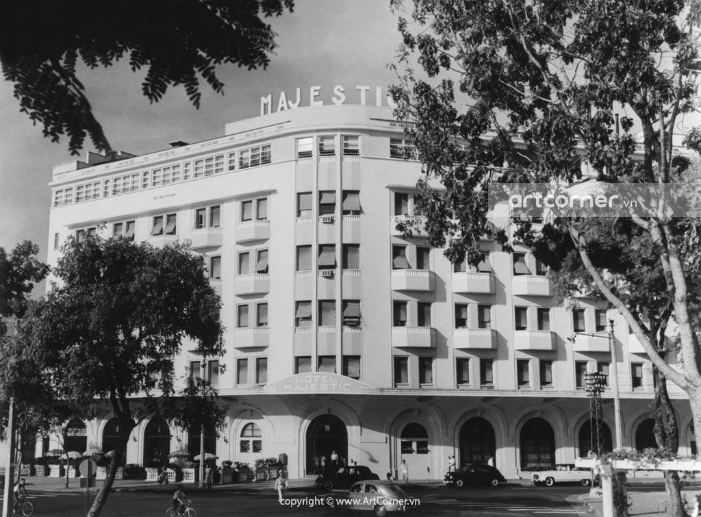 Sài Gòn xưa - Khách sạn Majestic - Majestic Hotel - Sài Gòn - 1967