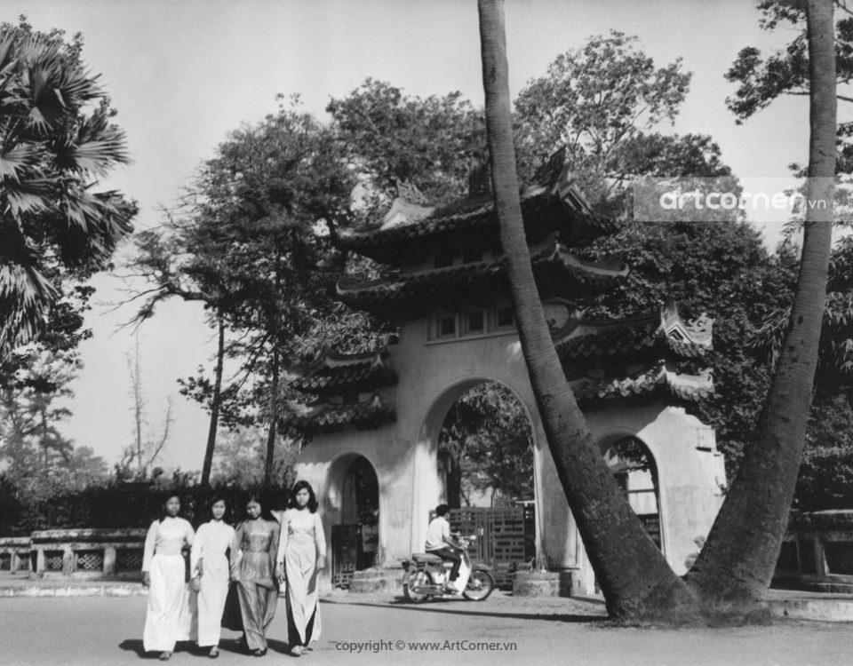 Sài Gòn xưa - Cổng chính Lăng Tả quân Lê Văn Duyệt - The main entrance to Lê Văn Duyệt mausoleum - Sài Gòn - 1968
