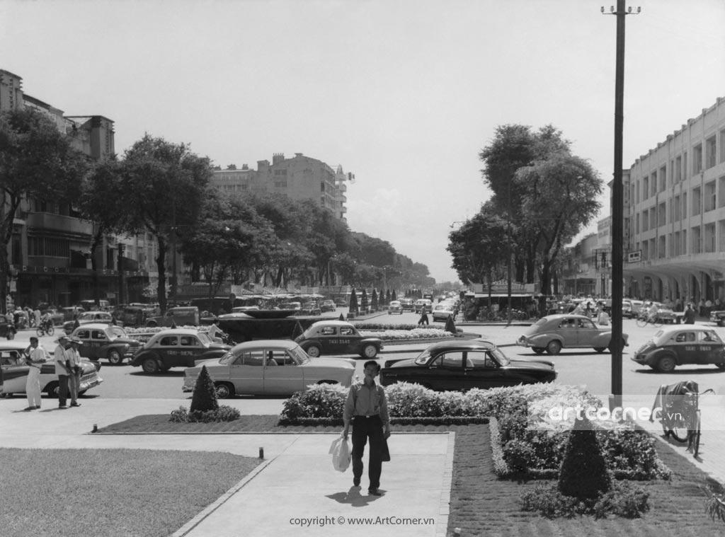 Sài Gòn xưa - Đại lộ Nguyễn Huệ - Nguyễn Huệ Boulevard - Sài Gòn - 1965
