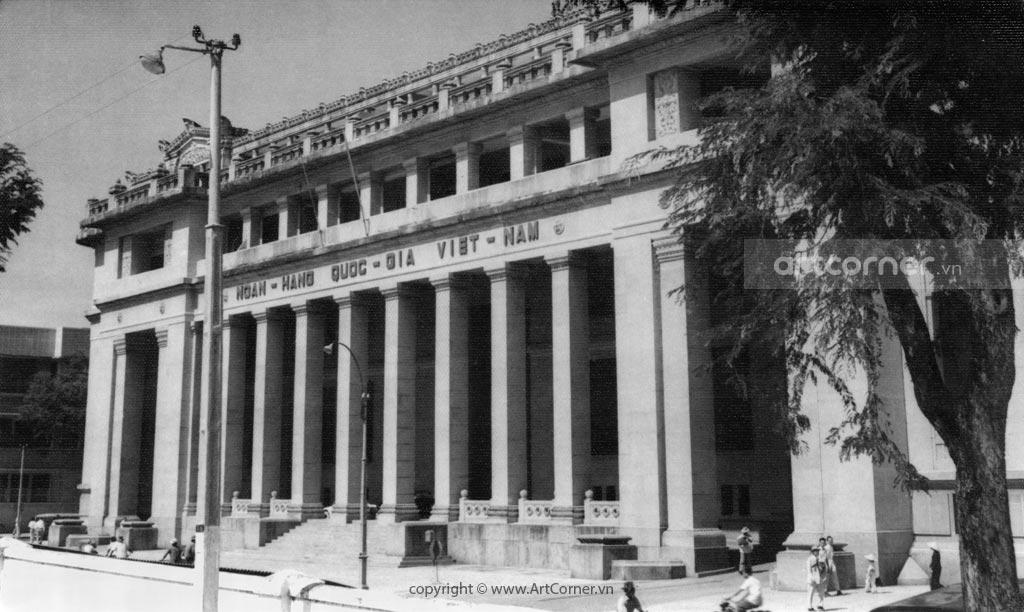 Sài Gòn xưa - Ngân hàng Quốc Gia Việt Nam - National Bank of Vietnam - 1959
