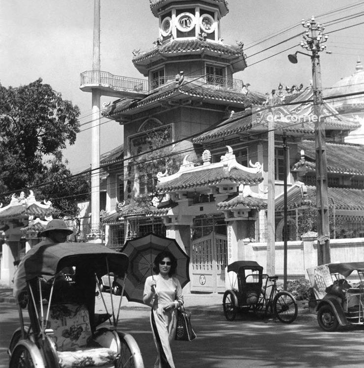 Sài Gòn xưa - Tam Tông Miếu - Tam Tông Temple - Sài Gòn - 1961