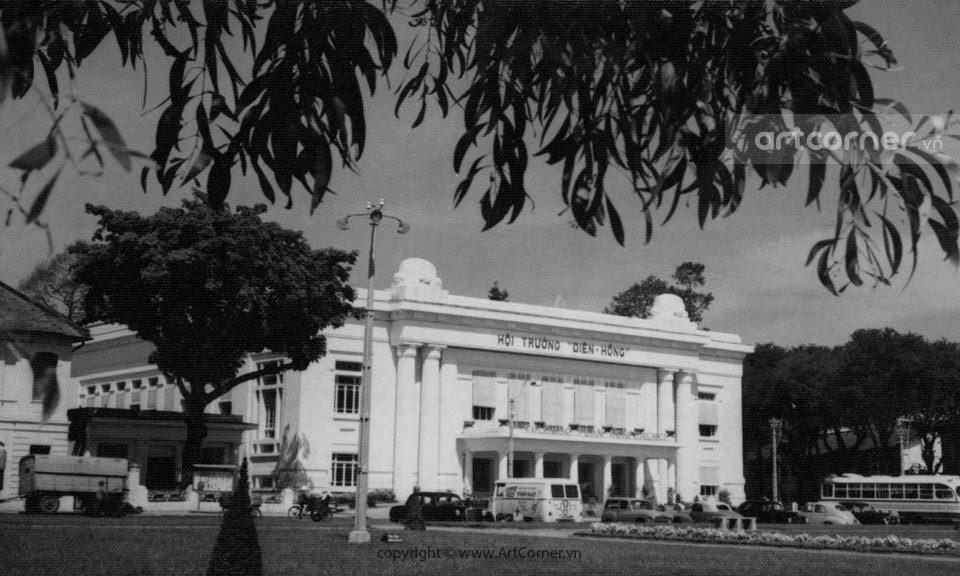Sài Gòn xưa - Hội trường Diên Hồng - 1961