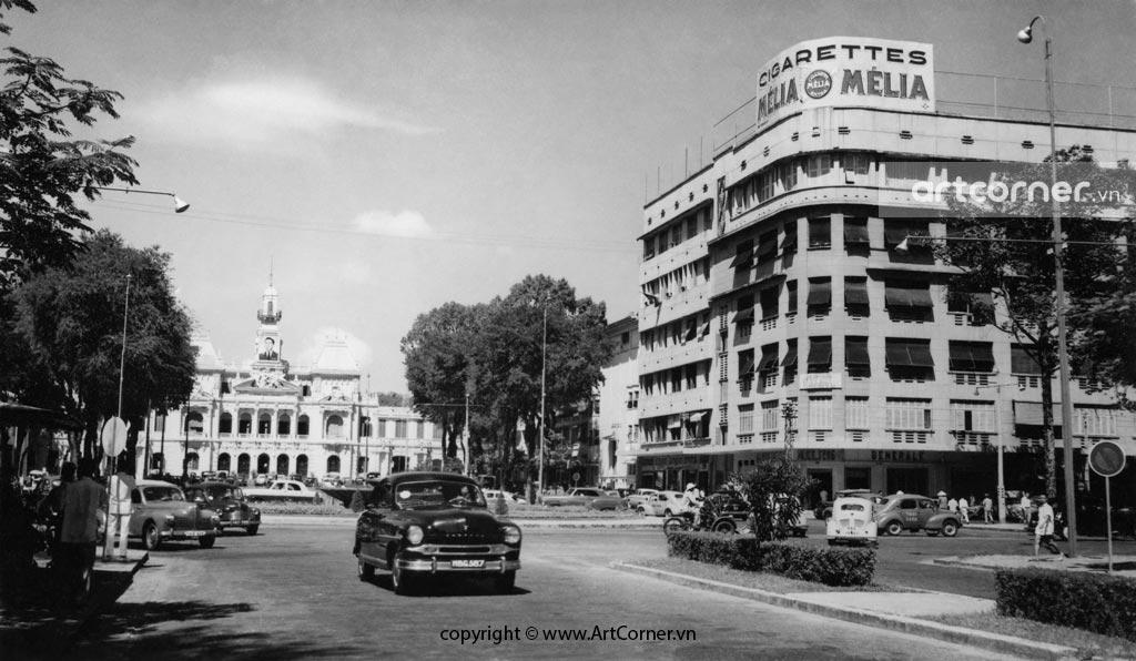 Sài Gòn xưa - Đại lộ Nguyễn Huệ - Nguyễn Huệ Boulevard - Sài Gòn - 1959