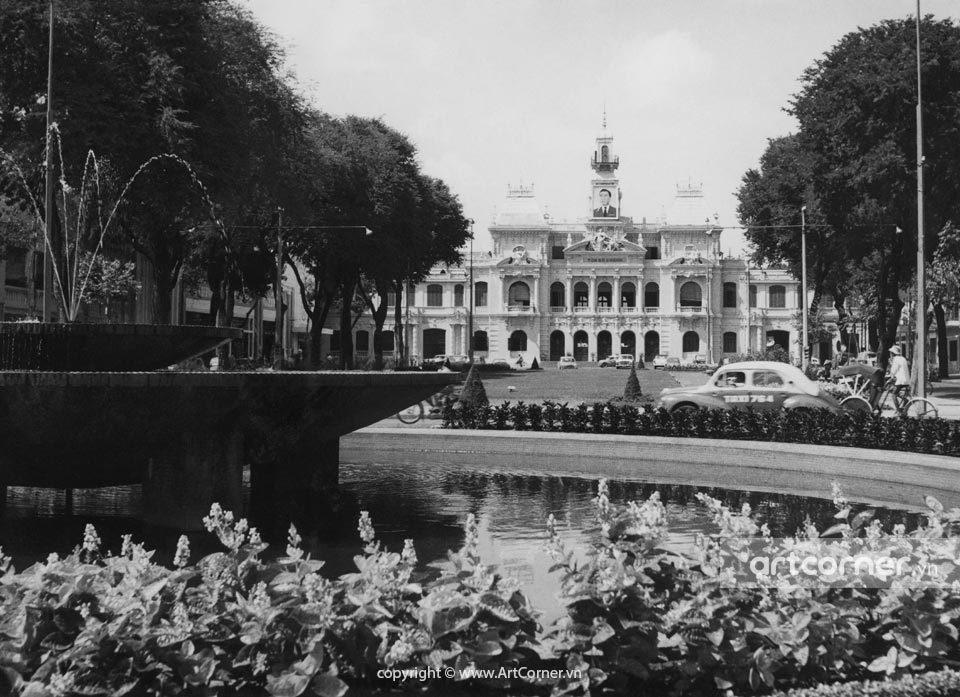 Sài Gòn xưa - Tòa Đô Chính - The Town Hall - Sài Gòn - 1960