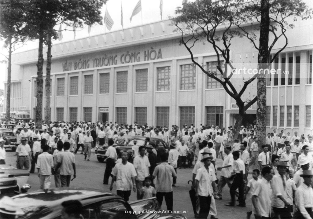 Sài Gòn xưa - Vận Động Trường Cộng Hòa - Sài Gòn - 1961