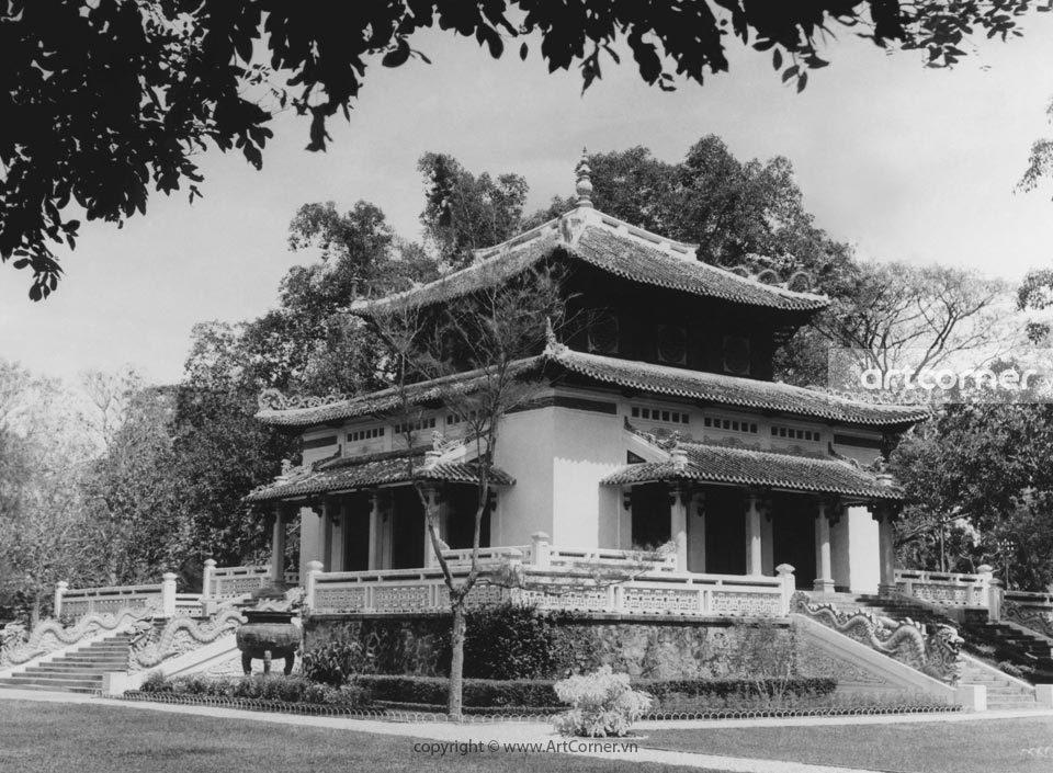 Sài Gòn xưa - Đền Hùng Vương - King Hùng Temple - Sài Gòn - 1959