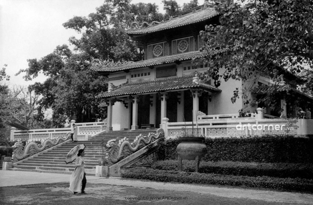 Sài Gòn xưa - Đền Hùng Vương - King Hùng Temple - Sài Gòn - 1960