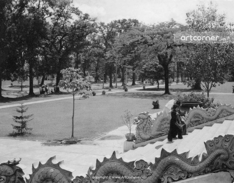 Sài Gòn xưa - Đền Hùng Vương - King Hùng Temple - Sài Gòn - 1962