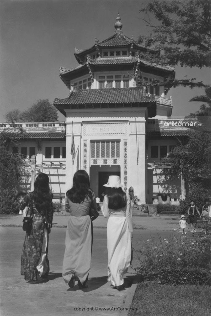 Sài Gòn xưa - Viện Bảo tàng - The National Museum - Sài Gòn - 1965