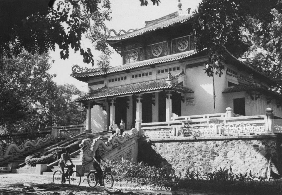 Sài Gòn xưa - Đền Hùng Vương - King Hùng Temple - Sài Gòn - 1978