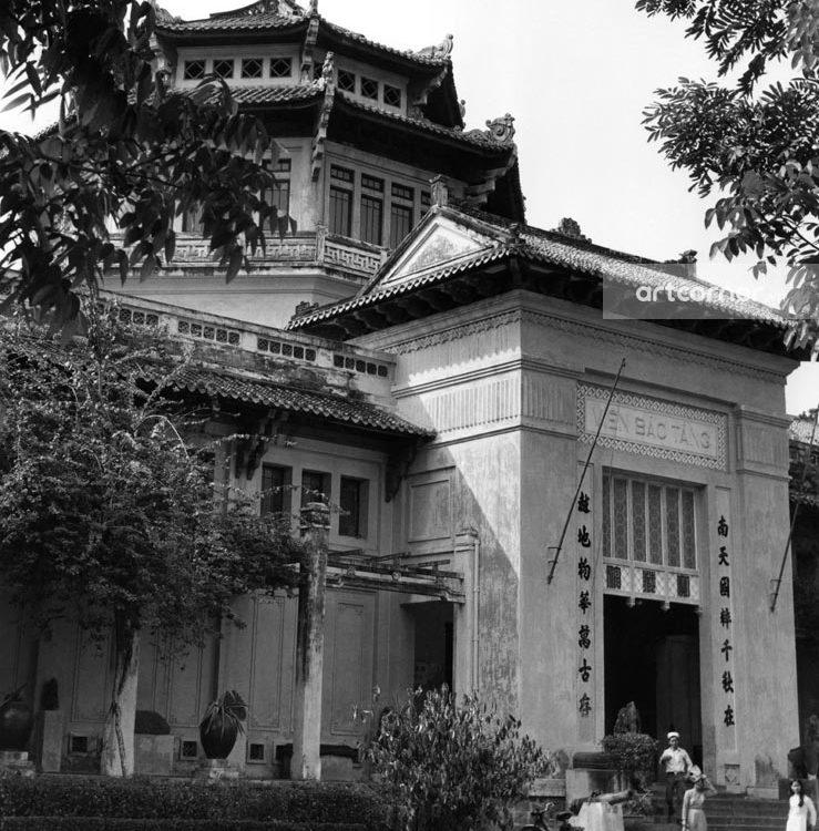 Sài Gòn xưa - Viện Bảo tàng - The National Museum - Sài Gòn - 1957