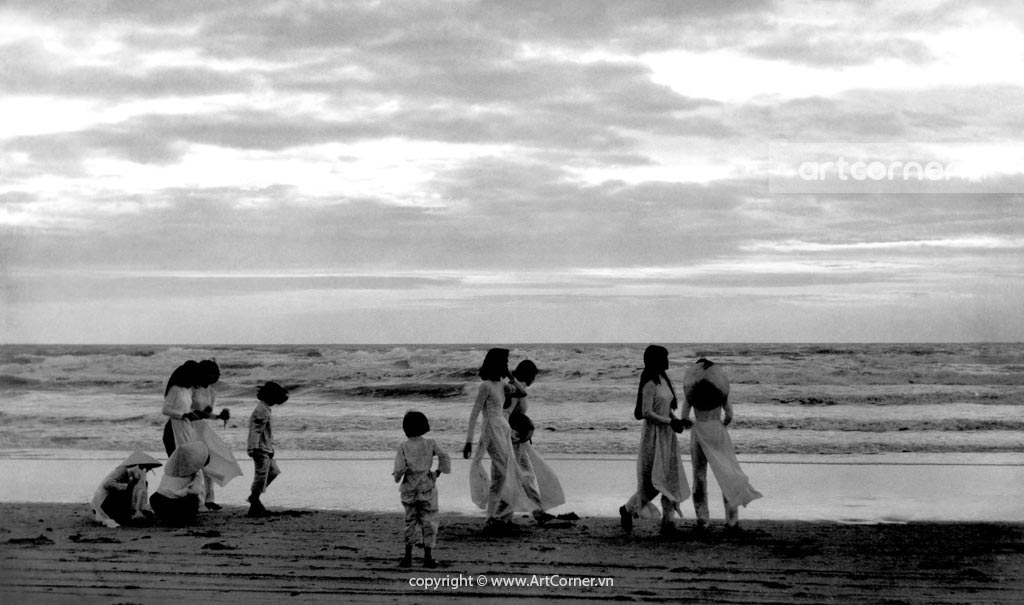 Vũng Tàu xưa - Bãi Sau - Back Beach - Vũng Tàu - 1964