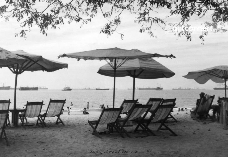 Vũng Tàu xưa - Bãi Trước - Front Beach - Vũng Tàu - 1965