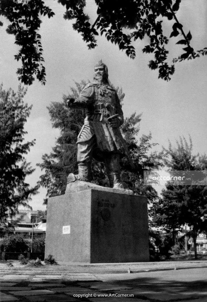 Vũng Tàu xưa - Công viên tượng đài Trần Hưng Đạo - Vũng Tàu - 1971