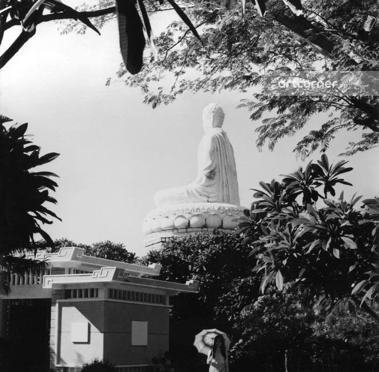 Vũng Tàu xưa - Thích Ca Phật đài - Platform of Shakyamuni Buddha - Vũng Tàu - 1971